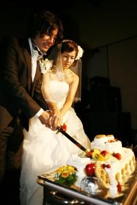 結婚式 二次会 幹事代行 FOR U ケーキ入刀