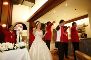結婚式 二次会 幹事代行 FOR U 三宮 11月27日 森口夫妻 余興