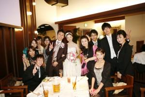 結婚式 二次会 幹事代行 FOR U 三宮 11月27日 カメラマン撮影