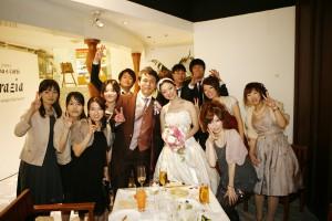 結婚式 二次会 幹事代行 FOR U 三宮 11月27日 カメラマン撮影2