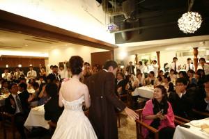 結婚式 二次会 幹事代行 FOR U 三宮 11月27日 退場