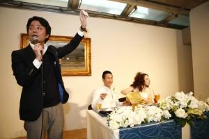 結婚式 二次会 幹事代行 FOR U 2/5 心斎橋 w cafe 福原夫妻