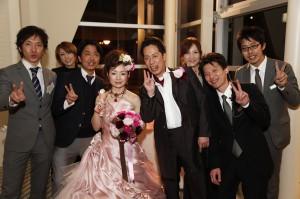 結婚式 二次会 幹事代行 FOR U プロデュース リバースイート大阪 1.5次会 3月12日