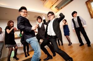 結婚式 二次会 幹事代行 FOR U 3月21日 w cafe 心斎橋 パーティー