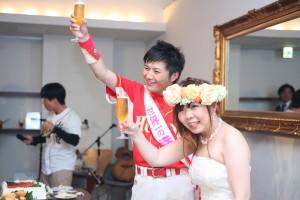 結婚式 二次会 1.5次会 幹事代行 プロデュース 関西 大阪 神戸 京都 奈良 和歌山 FOR U 5/8 心斎橋 w cafe