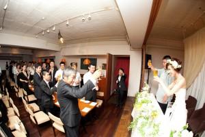 結婚式 二次会 1.5次会 幹事代行 プロデュース関西 大阪 神戸 京都 奈良 和歌山 FOR U 7/3 堂島アメリ Amelie