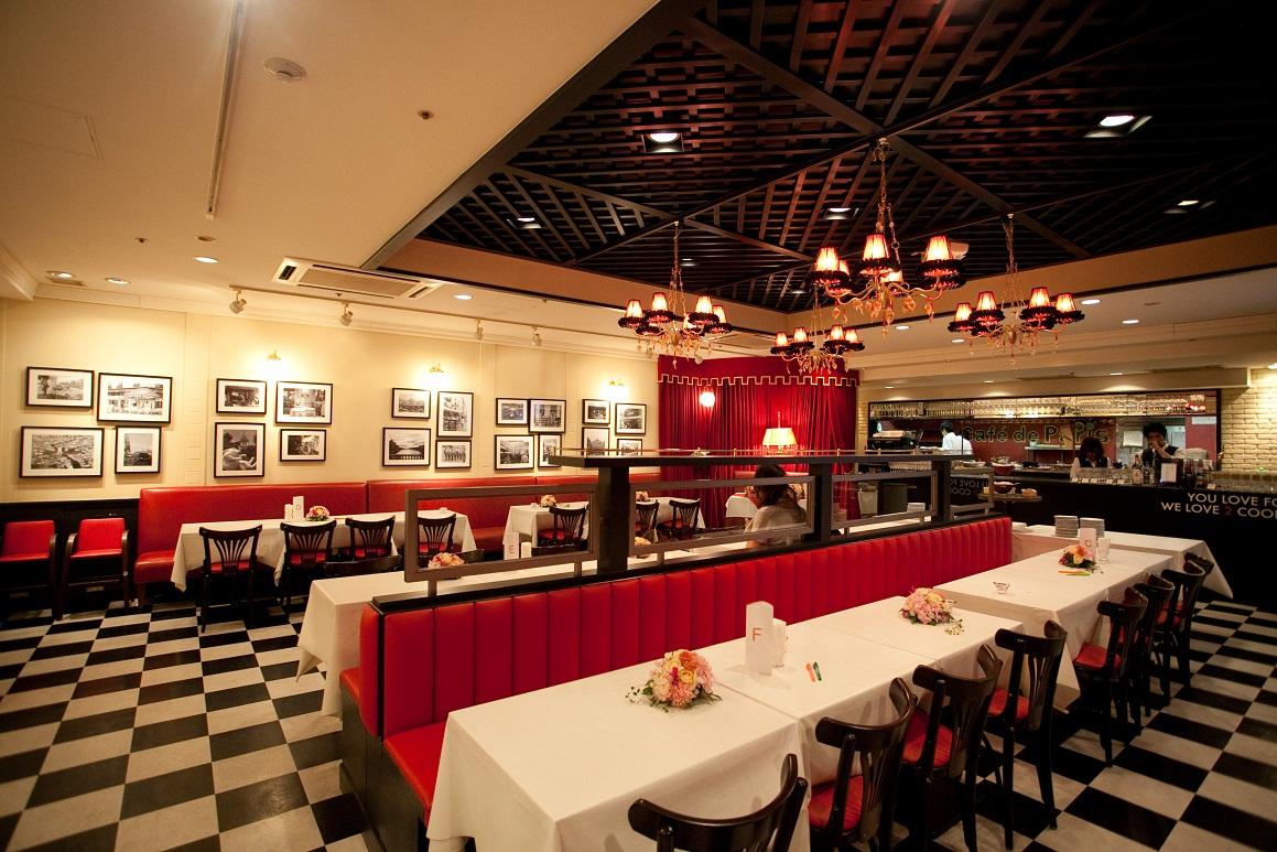 Brasserie Cafe de Paris(ブラッスリーカフェドパリ)