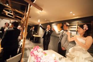結婚式 二次会 1.5次会 幹事代行 プロデュース 関西 大阪 神戸 京都 奈良 和歌山 FORU 11/3 アルトロルオーゴ(堂島)