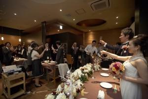結婚式 二次会 1.5次会 幹事代行 プロデュース 関西 大阪 神戸 京都 奈良 和歌山 FORU 12/8 新風館TAWAWA(京都)