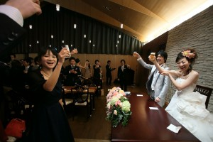 結婚式 二次会 1.5次会 幹事代行 プロデュース 関西 大阪 神戸 京都 奈良 和歌山 FOR U 2013.1.19 あしびの郷(奈良)