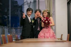 結婚式 二次会 1.5次会 幹事代行 プロデュース 関西 大阪 神戸 京都 奈良 和歌山 FOR U 2013.5.11 GRILL&DINER ROBIN(南船場)