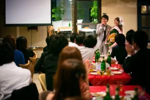 結婚式 二次会 1.5次会 幹事代行 プロデュース 関西 大阪 神戸 京都 奈良 和歌山 FOR U 2013.8.03 CAFE GARP(南船場)
