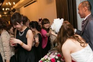 結婚式 二次会 1.5次会 幹事代行 プロデュース 関西 大阪 神戸 京都 奈良 和歌山 FOR U 2013.9.16 EAU(三宮)