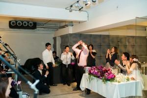 結婚式 二次会 1.5次会 幹事代行 プロデュース 関西 大阪 神戸 京都 奈良 和歌山 FOR U 2014.2.23 cafe mode(堀江)