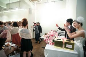 結婚式 二次会 1.5次会 幹事代行 プロデュース 関西 大阪 神戸 京都 奈良 和歌山 FOR U 2014.3.1 DECO(本町)