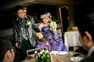 結婚式 二次会 1.5次会 幹事代行 プロデュース 関西 大阪 神戸 京都 奈良 和歌山 FOR U 2015.2.1 CAFE GARB(南船場)