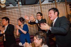 結婚式 二次会 1.5次会 幹事代行 プロデュース 関西 大阪 神戸 京都 奈良 和歌山 FOR U 2015.2.1 CARTA(神戸)