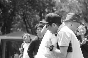 結婚式 二次会 1.5次会 幹事代行 プロデュース 関西 大阪 神戸 京都 奈良 和歌山 FOR U 2015.5.17 野外ウエディング アウトドア BBQ(服部緑地)