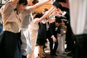 結婚式 二次会 1.5次会 幹事代行 プロデュース 関西 大阪 神戸 京都 奈良 和歌山 FOR U 2015.3.21 THE PLAC KOBE(三ノ宮)