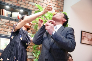 結婚式 二次会 1.5次会 幹事代行 プロデュース 関西 大阪 神戸 京都 奈良 和歌山 FOR U 2015.9.20 THE PLACE KOBE (三宮)