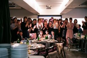 結婚式 二次会 1.5次会 幹事代行 プロデュース 関西 大阪 神戸 京都 奈良 和歌山 FOR U 2015.5.9 CAFE GARB カフェガーブ(南船場/心斎橋)