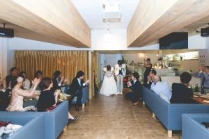 結婚式 二次会 1.5次会 幹事代行 プロデュース 関西 大阪 神戸 京都 奈良 和歌山 FOR U 2015.5.23 CAFE GARB