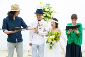 結婚式 二次会 1.5次会 幹事代行 プロデュース 関西 大阪 神戸 京都 奈良 和歌山 FOR U 2015.6.7 FBI(淡路島)