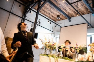 結婚式 二次会 1.5次会 幹事代行 プロデュース 関西 大阪 神戸 京都 奈良 和歌山 FOR U 2015.9.20 THE PLACE (梅田)