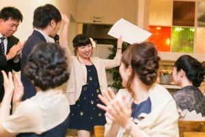 結婚式 二次会 1.5次会 幹事代行 プロデュース 関西 大阪 神戸 京都 奈良 和歌山 FOR U 2015.10.12 Party Wedding(北堀江)