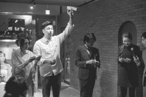 結婚式 二次会 1.5次会 幹事代行 プロデュース アウトドアウエディング 野外ウエディング 関西 大阪 神戸 京都 奈良 和歌山 FOR U 2015.11.3 THE PLACE(梅田)