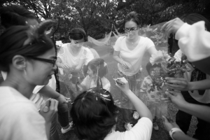 結婚式 二次会 1.5次会 幹事代行 プロデュース アウトドアウエディング 野外ウエディング 関西 大阪 神戸 京都 奈良 和歌山 FOR U 2016.10.1 ロッジ舞洲(舞洲)