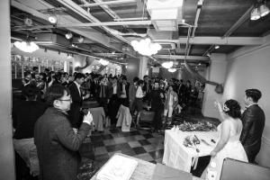 結婚式 二次会 1.5次会 幹事代行 プロデュース アウトドアウエディング 野外ウエディング 関西 大阪 神戸 京都 奈良 和歌山 FOR U 2017.2.26 (カラース/colors/梅田)
