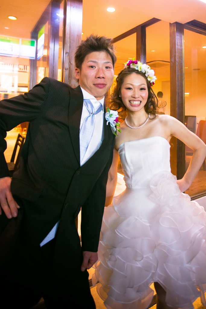 contactでのパーティーレポートK夫妻様
