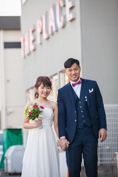 THE PLACE(ザプレイス)でのパーティーレポート川口夫妻様