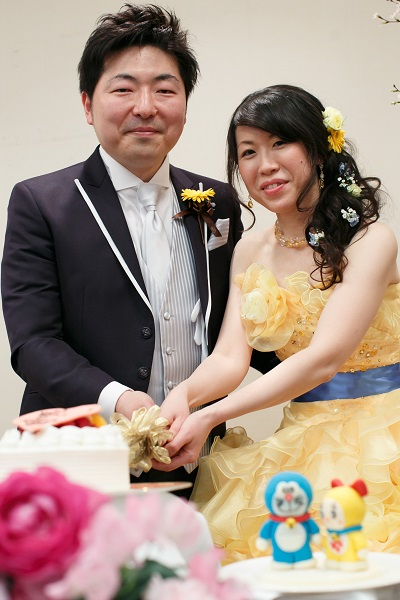 ホテルグランヴィア京都でのパーティーレポートW夫妻様