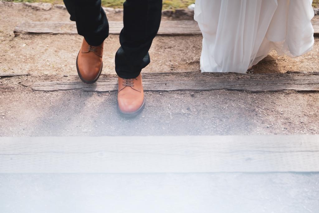 アウトドアウェディング 野外ウェディング 大阪結婚式 結婚式1.5次会 ロッジ舞洲 結婚式二次会 ブーケ ドライフラワー