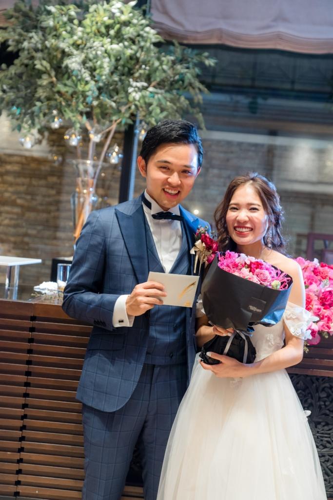 アルカンシエル luxe mariage 大阪でのパーティーレポートS夫妻様