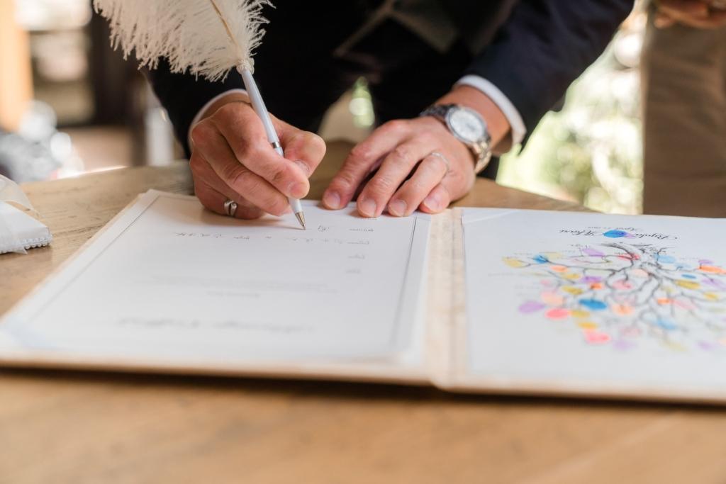 Marca 指紋 結婚証明書