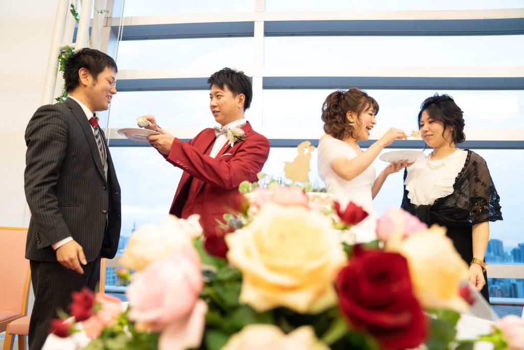幹事代行 1.5次会 二次会 結婚式プロヂュース ケーキセレモニー ケーキカット ファーストバイト セカンドバイト サンクスバイト
