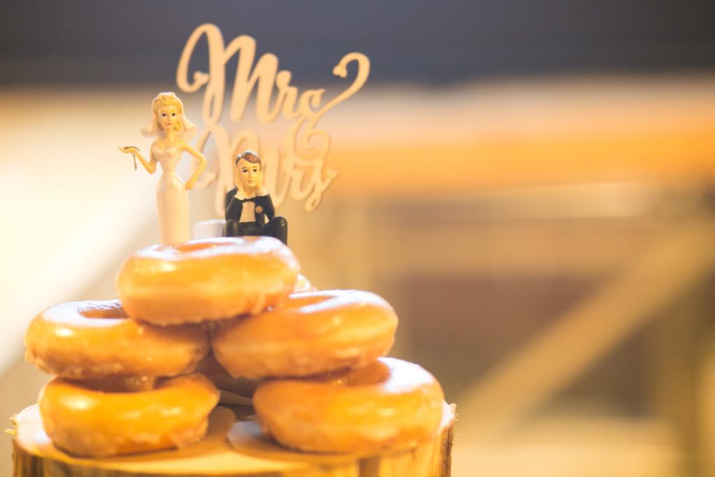 1.5次会 幹事代行 2次会 結婚式プロデュース ケーキ ドーナツ セレモニー ケーキカット ファーストバイト 変わり種演出