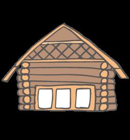 ログハウス宿泊