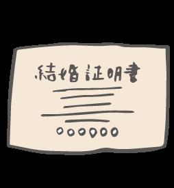 結婚証明書